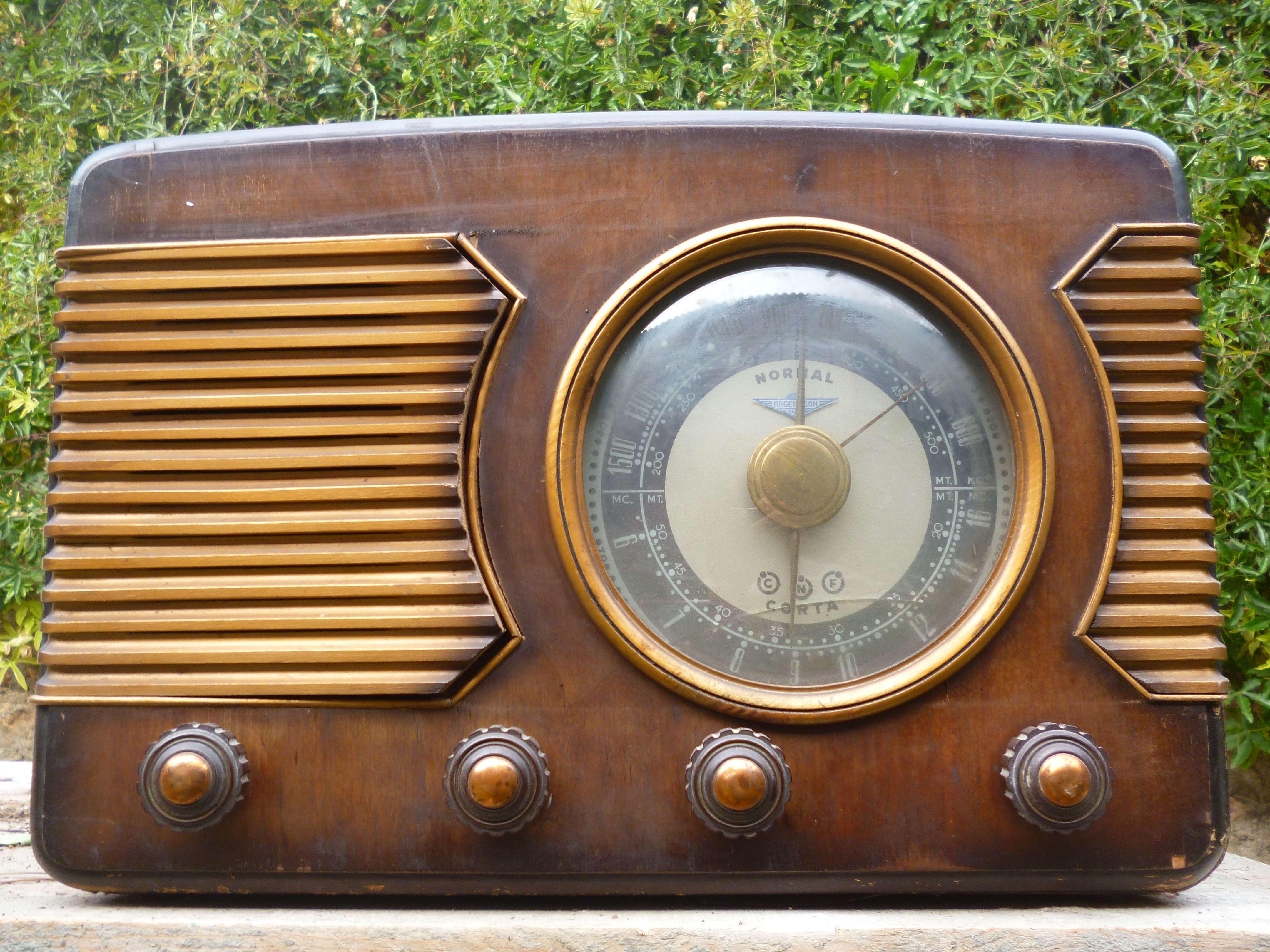 radio argetson antigua coleccionismo mobiliario